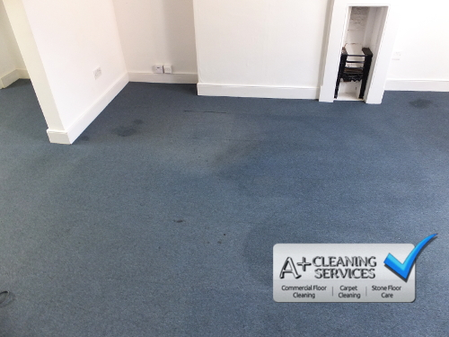 Carpet Cleaning Cirencester - Blue Carpet Tiles 1 by A+ Cleaning Services