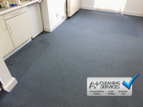 Carpet Cleaning Cirencester - Blue Carpet Tiles 3 by A+ Cleaning Services