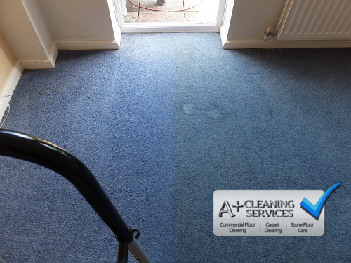 Carpet Cleaning Gloucester - Brilliant Blue 2 by A+ Cleaning Services