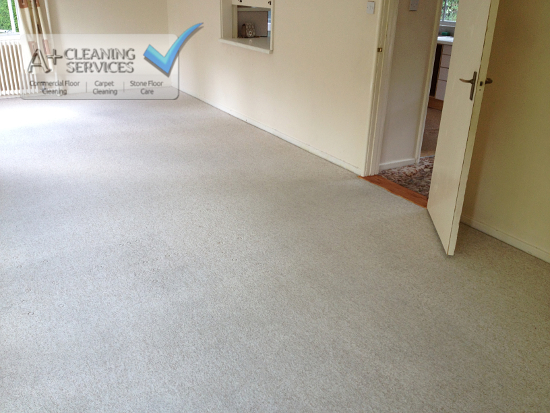 Carpet Cleaner Gloucester - DIY Disaster (After) by A+ Cleaning Services