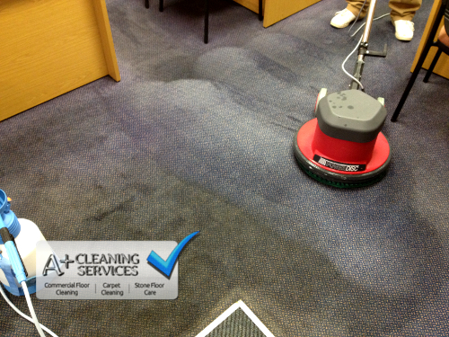 Carpet Cleaning Gloucester - Doorway Dirt 1 by A+ Cleaning Services