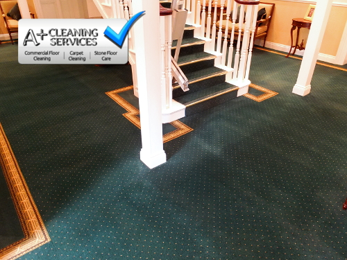 Carpet Cleaning Stroud - Retirement Village 4 by A+ Cleaning Services